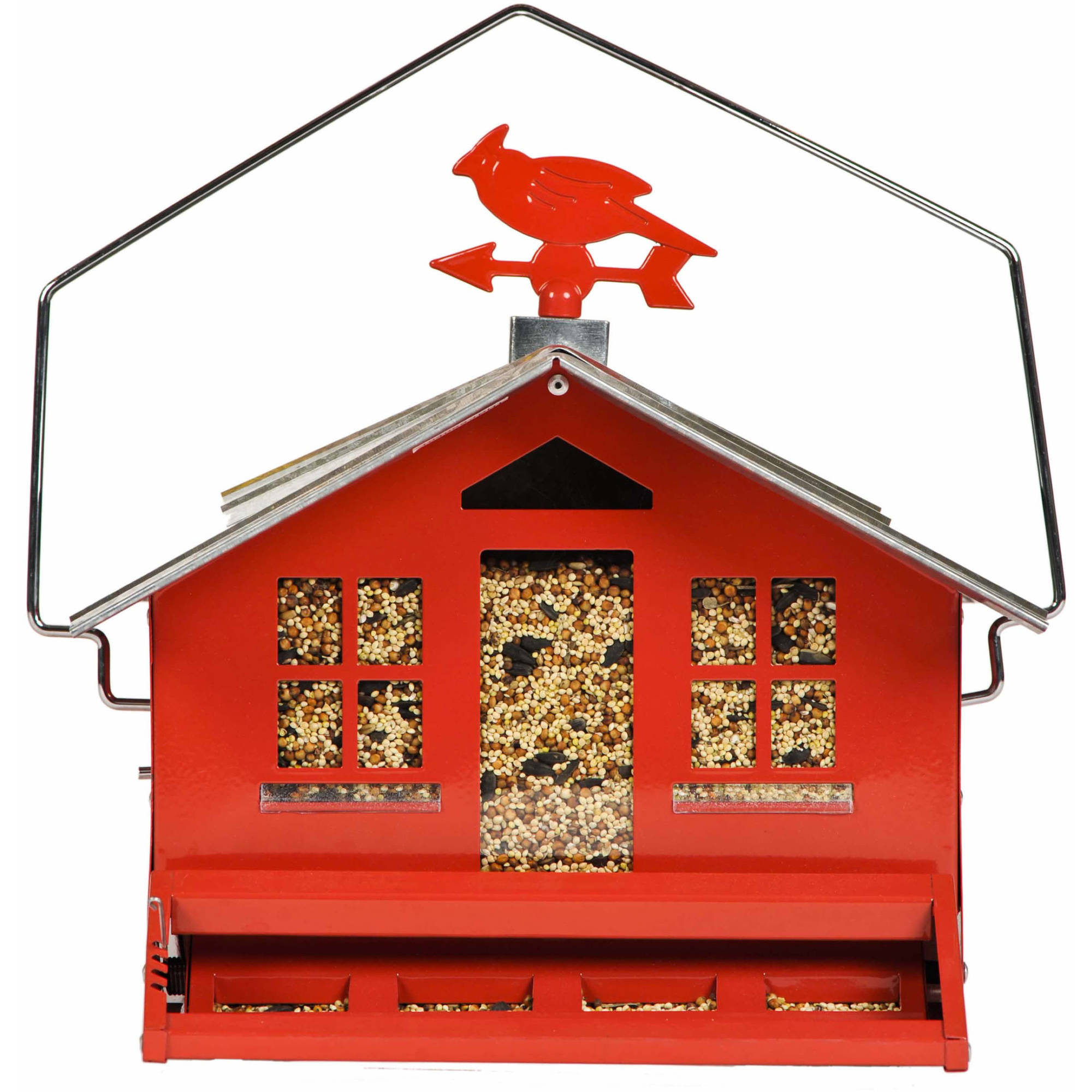 Perky-Pet 338 Squirrel-Be-Gone II Country Style Wild Birdfeeder by Perky-Pet