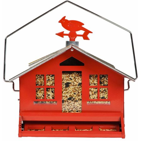 Squirrel Proof Bird Feeder (Perky-Pet 338 Squirrel-Be-Gone II Country Style Wild Bird Feeder )