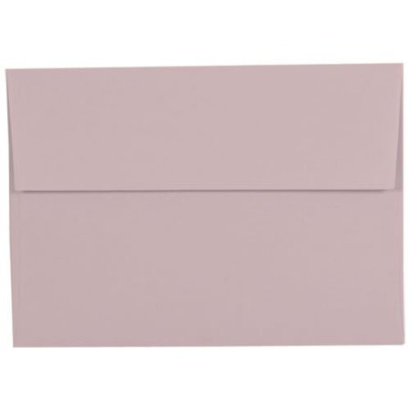 jam paper a7 invitation envelope 5 1 4 x 7 1 4 light purple