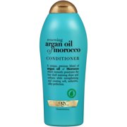 OGX Renewing Moroccan Argan Oil Conditioner Salon Size, 25.4 Ounce (Pack of 4)