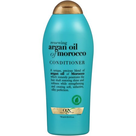 OGX Renewing Argan Oil of Morocco Conditioner, 25.4 (Best Moisturizer For Natural Curly Hair)