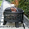 Granada 26  Steel Fire Pit, Antique Bronze