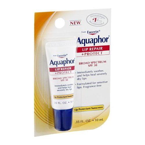 Aquaphor Lip Repair + Protect .35 Fluid Ounce  (Pack of 5)