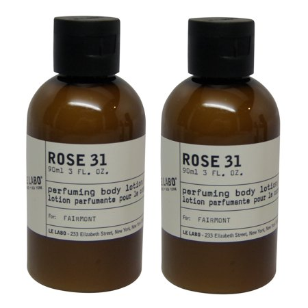 Le Labo Rose 31 Body Lotion lot of 2 each 3 Oz bottles. Total of 6