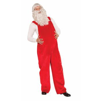 SANTA OVERALLS (Costume With Overalls)