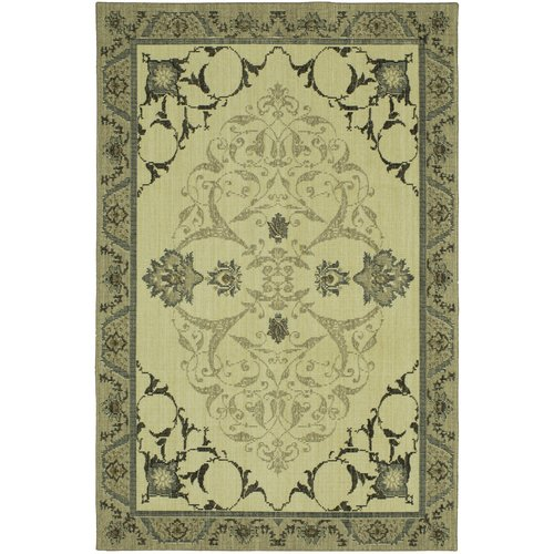 Karastan Vintage Tapis Chateau by Patina Vie Hand-Knotted Gray/Silver Area Rug