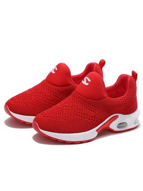 Boys Girls Sport Running Shoes Comfortable Fashion Lightweight Kids Sneakers Slip on Cushion(Toddler kids/Little kids)