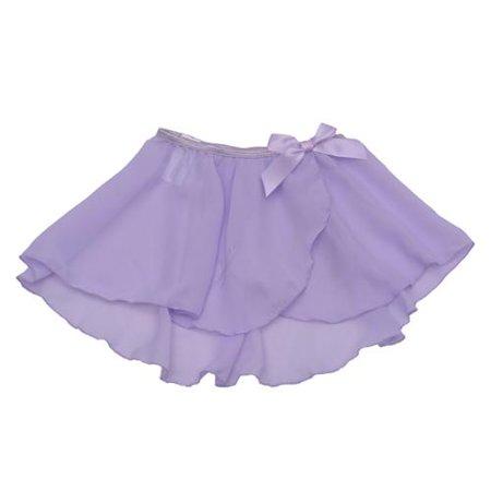 Danshuz Girls Size 12-14 Mock Wrap Circle Skirt Dancewear