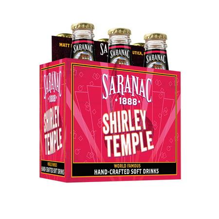 Saranac Shirley Temple Soda, 12 Fl  Oz , 6 Count