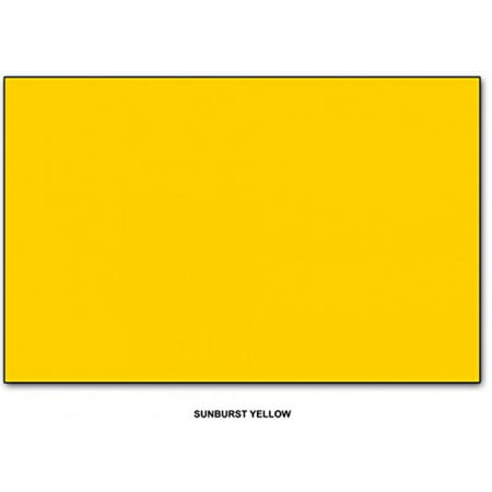 Sunburst Yellow - Neenah Astrobrights Premium Color Card Stock, Paper size: 11 x 17 - 65 Lb Cardstock - 50 Sheets