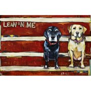 """""""Lean on Me"""" by Tori Campisi Painting Print on Canvas"""