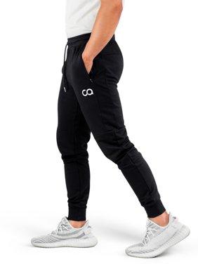 Contour Athletics Men's Jogger Cruise Sweatpants with Zipper Pockets
