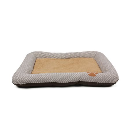 Pet Life Nano-Silver Anti-Bacterial Neutral Carpentry Designer Dog Bed