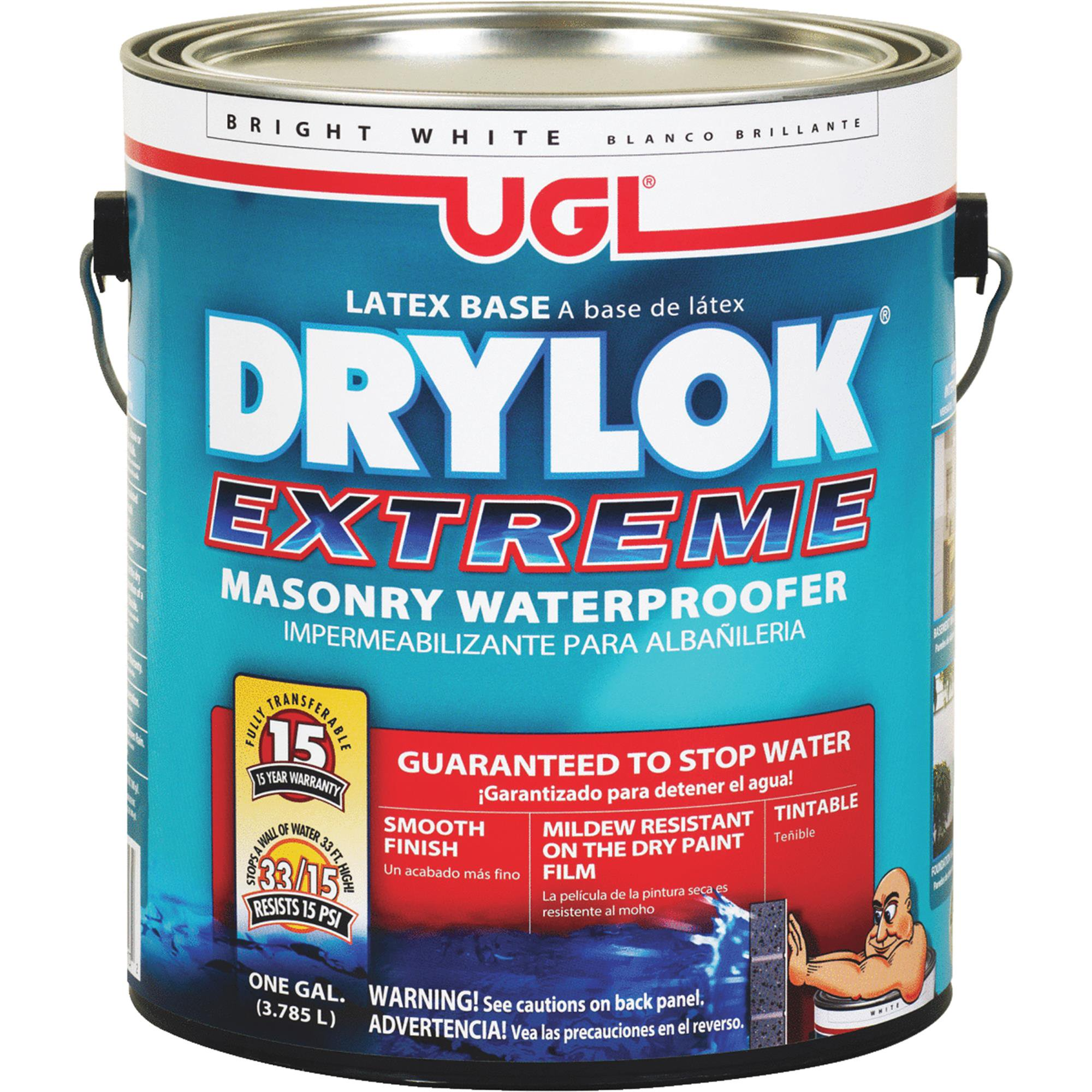 Drylok Extreme Masonry Waterproofer Concrete Sealer by United Gilsonite Lab