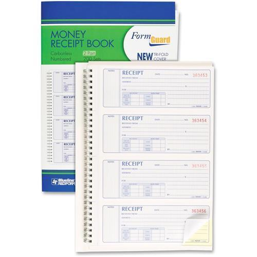 Rediform OFFICE PRODUCTS Money Receipt Book, 2-3/4 x 7, C...
