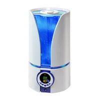 Comfort Zone Whisper-Quiet Cool Mist Digital Ultrasonic Humidifier