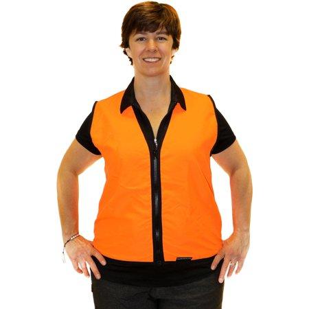 NFZ Single Ply Human Vest, Small, Blaze Orange thumbnail