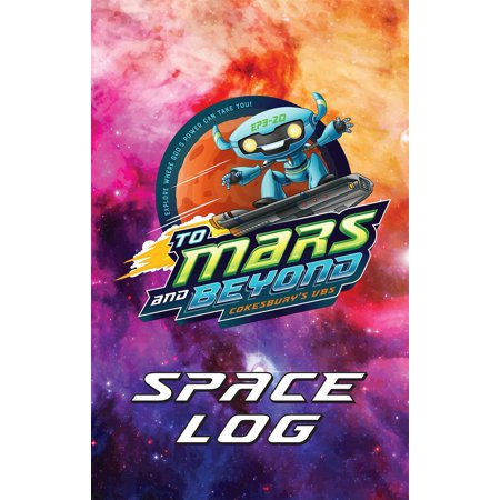To Mars and Beyond: Vacation Bible School (Vbs) 2019 to Mars and Beyond Space Log Activity Fun Book (Pkg of 24): Explore Where God's Power Can Take You! (Other) - Halloween Bible School Activities