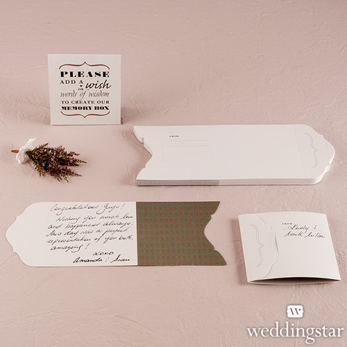 "Weddingstar 9163 ""Well Wishing"" Stationery Set"
