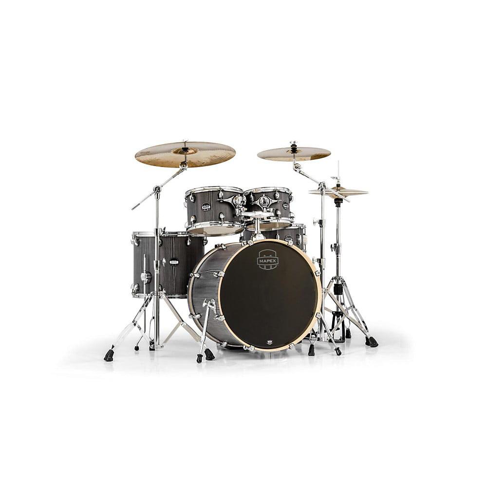 Mapex Mars Series 5 Piece Rock Drum Shell Pack - Smokewood