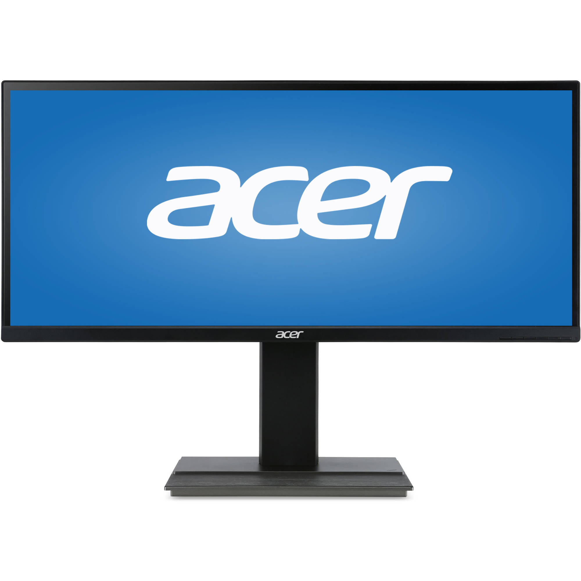 """Acer 34"""" LED LCD Widescreen Monitor (B346CKBMIJPHZX Black) by Acer"""
