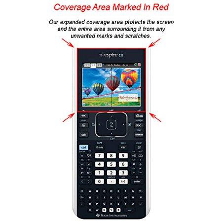 Guerrilla Military Grade Screen Protector 2-Pack For TI Nspire CX & CX CAS Graphing Calculator ()