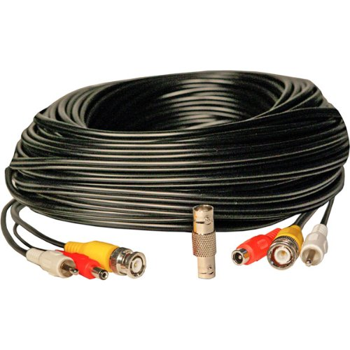 Security Labs SLA-42 BNC A/V Power Extension Cable, 100'