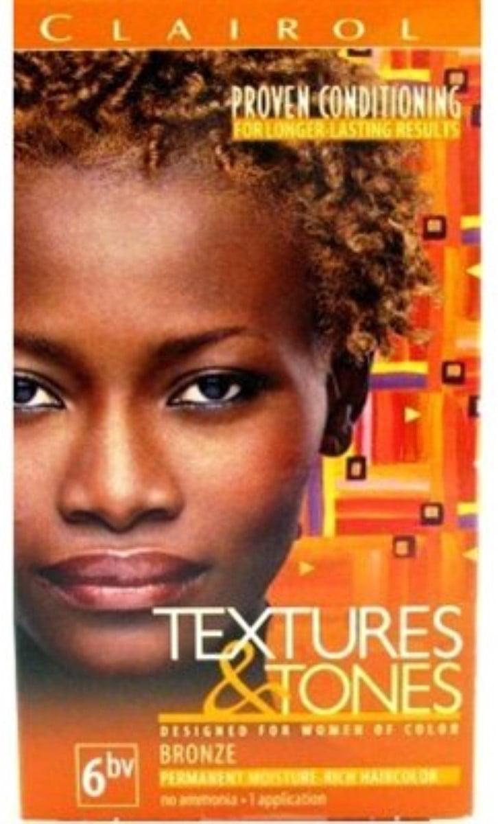 Clairol Textures Tones 6bv Bronze 1 Ea Pack Of 2 Walmart