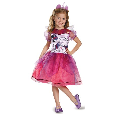 My Little Pony Girls Deluxe Twilight Sparkle Toddler Costume - XS (3T-4T)