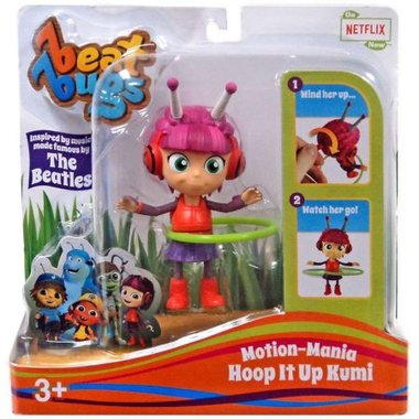 Beat Bugs Motion-Mania Hoop It Up Kumi Action Figure