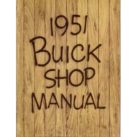 Bishko OEM Repair Maintenance Shop Manual Bound for Buick All Models 1951