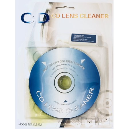 Wet/Dry CD/DVD Laser Lens Cleaner Game Player Xbox PS2 Liquid Included Cd Drive Lens Cleaner