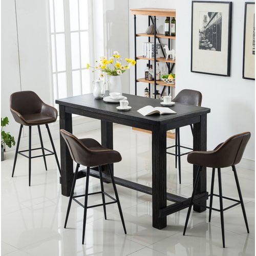 Union Rustic Shoemaker 5 Piece Pub Table Set