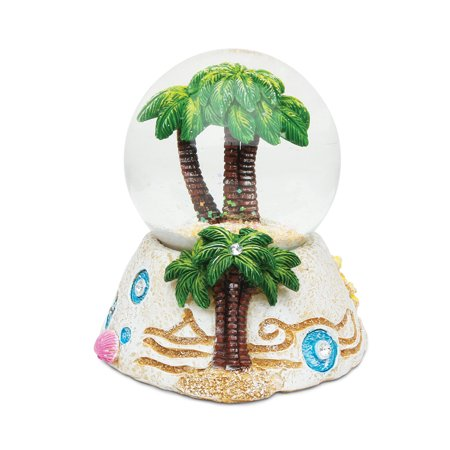 Stone Snow Globe - Palm Tree (Snowglobe Stopper)
