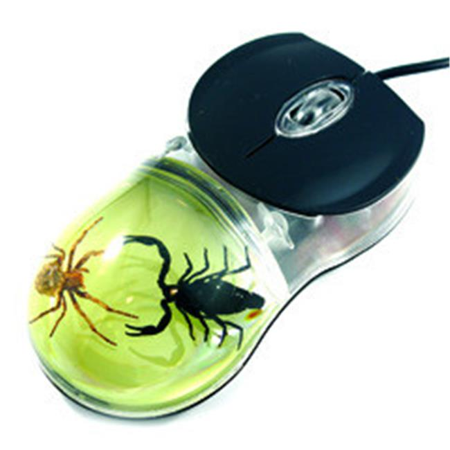 Ed Speldy East CM08 Glow in the Dark Computer Mouse - Scorpion and Spider
