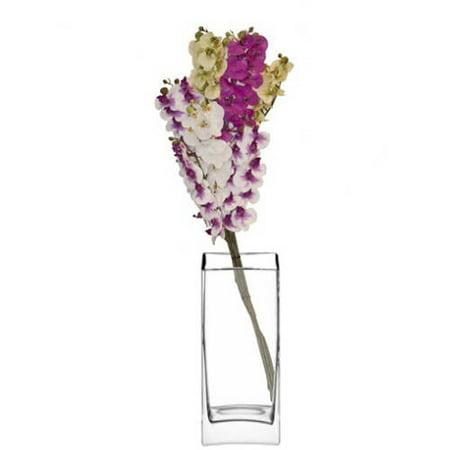 Aleko 4Fo23 Artificial 23  Gorgeous Orchid Flower  Various Colors  Set Of 4