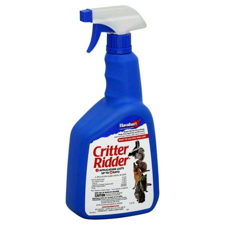 how to apply critter ridder