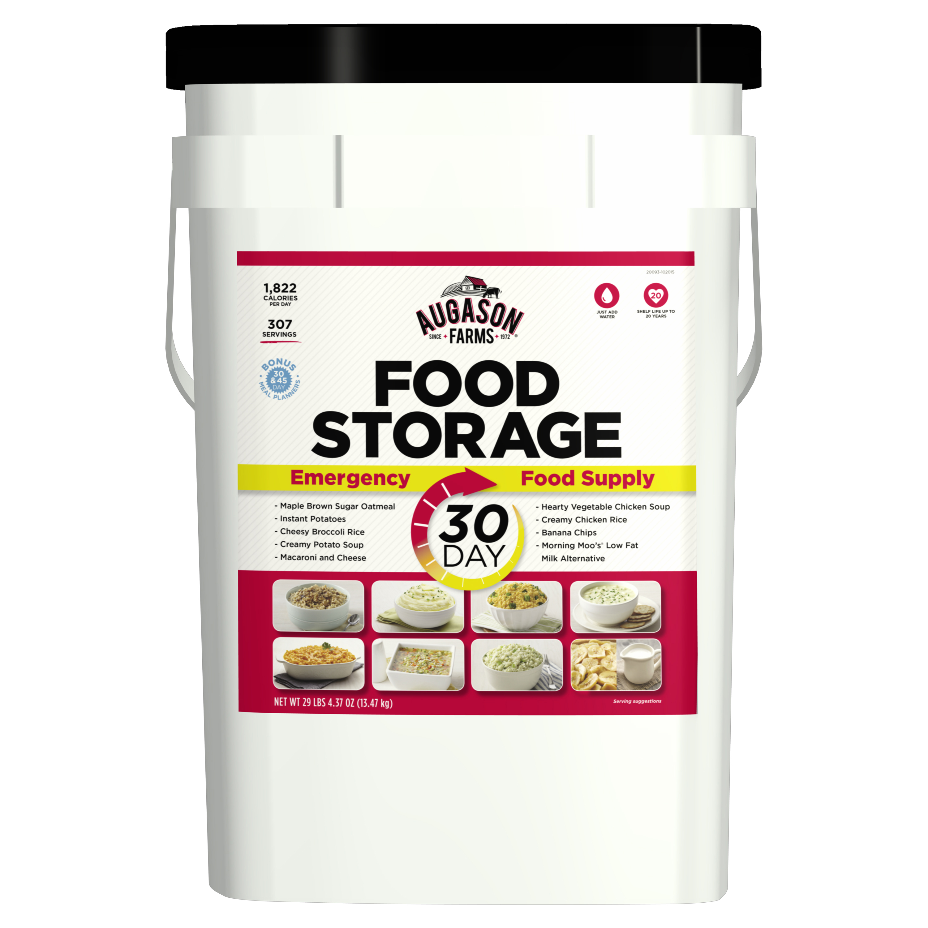 Augason Farms 30-Day Emergency Food Storage Supply