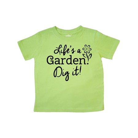 lifes a garden dig it toddler t shirt walmartcom - Lifes A Garden Dig It