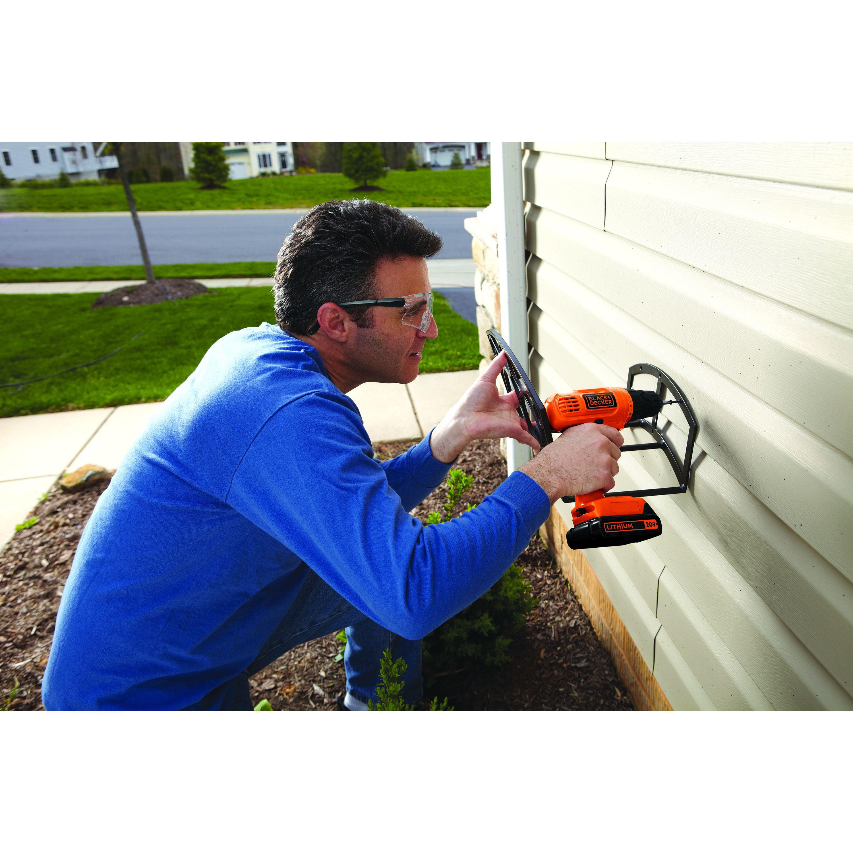 Black Decker 20 Volt Max Lithium Ion Cordless Drill Ld120cwm Basic Wiring Electrical Repairs And Home Improvement