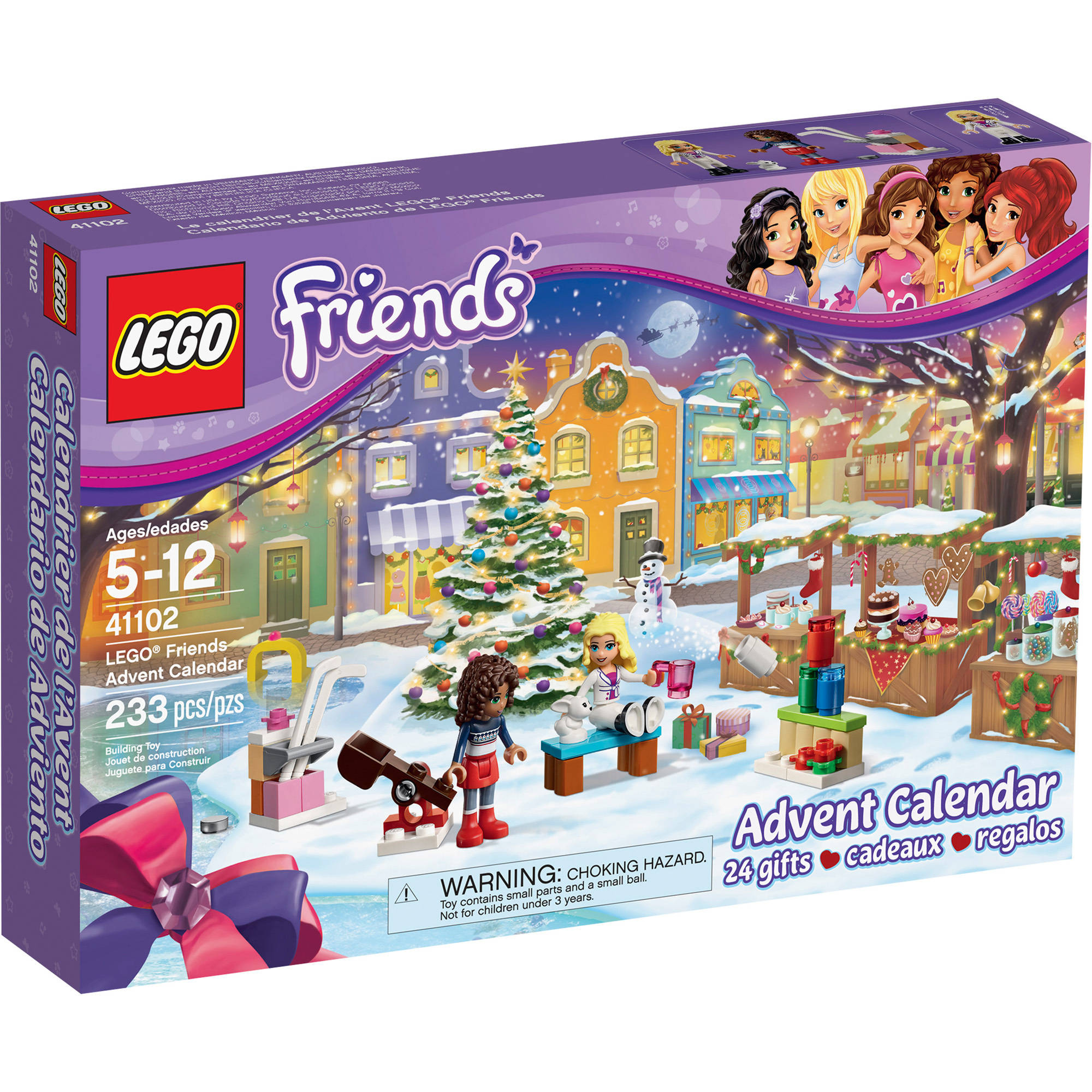 LEGO Friends Advent Calendar 41102  Walmartcom