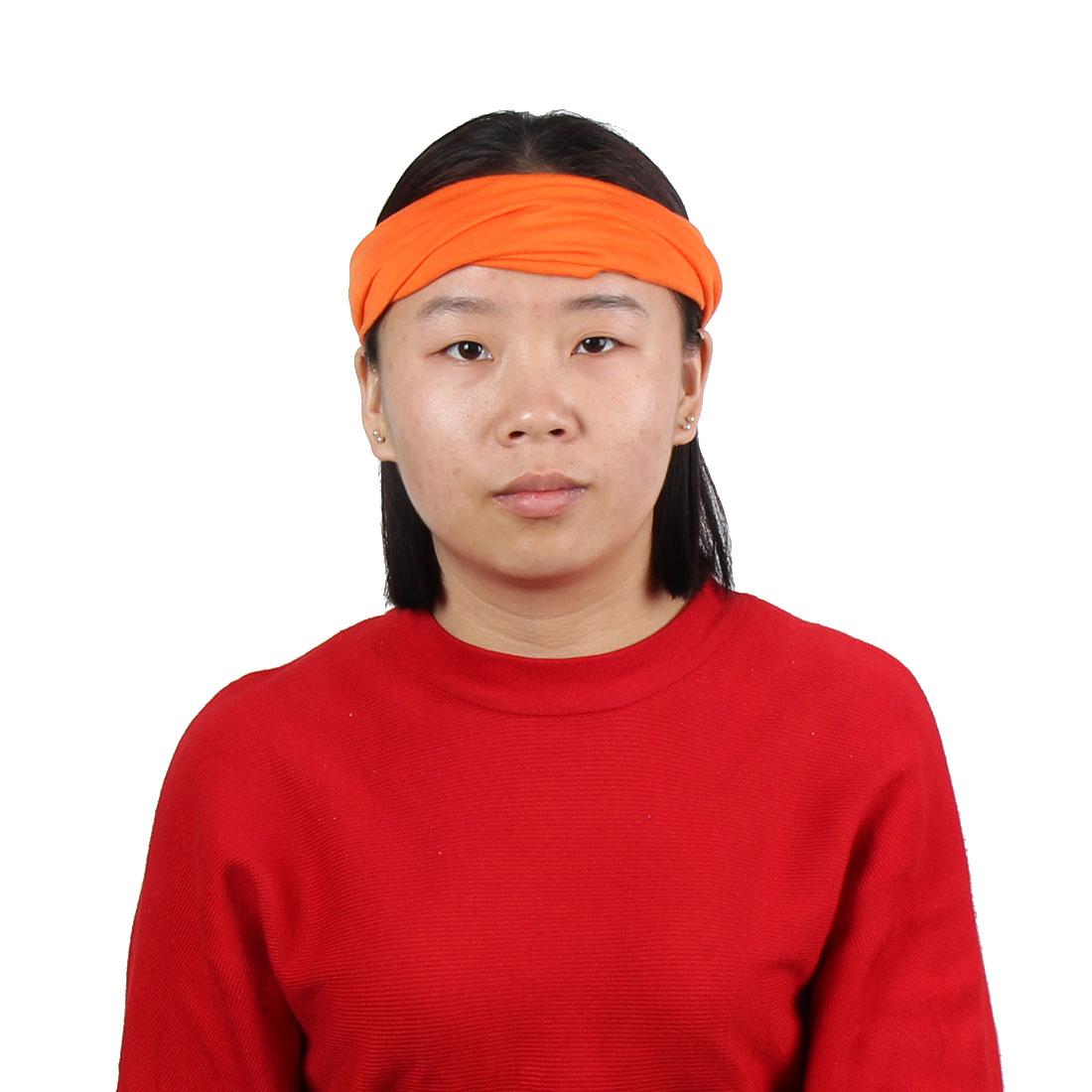 Outdoor Sports Cotton Blends Elastic Headwraps Headband Hair Band