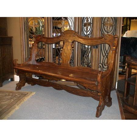 Eastern legends burgundy wood bench for Eastern legends bedroom furniture