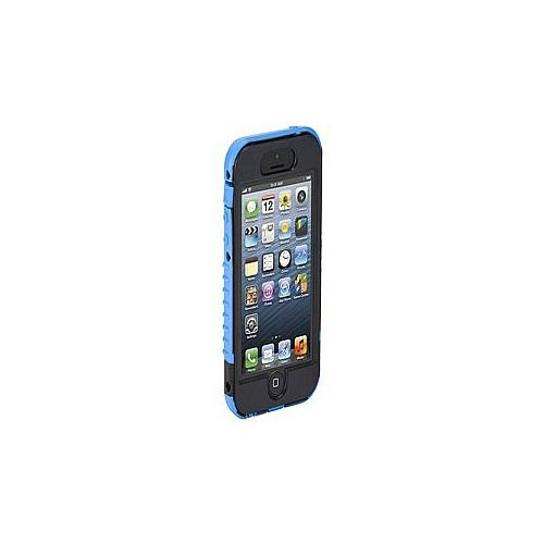 Targus SafePORT Max - Protective case for cell phone - silicone, polycarbonate - blue - for Apple iPhone 5