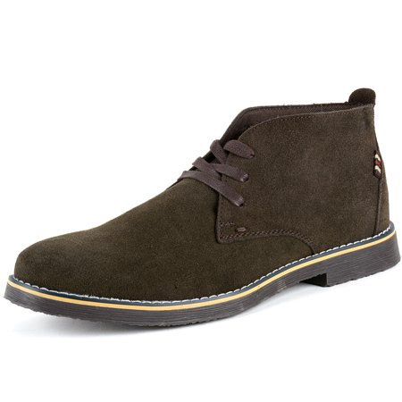 Suede Lace Up Walking Shoes - Alpine Swiss Beck Mens Suede Chukka Desert Boots Lace Up Shoes Crepe Sole Oxford