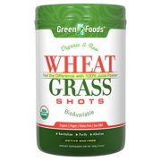 Wheat Grass Shot 60 Serving Green Foods 300 g Powder