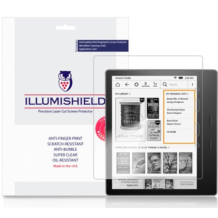 2x iLLumiShield Screen Protector Anti-Bubble for Kindle  Oasis  (7