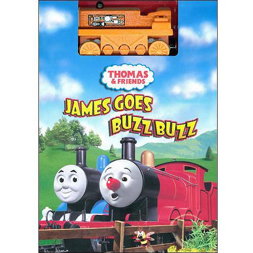 Thomas [The Tank Engine] & Friends: James Goes Buzz Buzz (w/ Toy Train)
