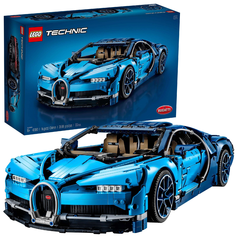 Lego Technic Bugatti Chiron 42083 by LEGO System Inc