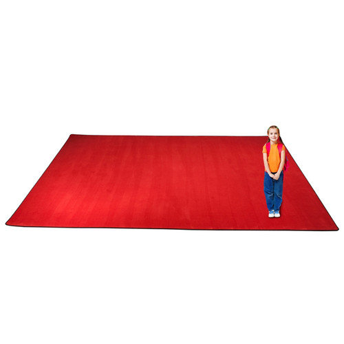 Kid Carpet KidTastic Cherry Red Area Rug